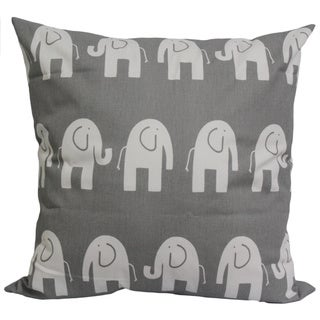 Taylor Marie Nursery Grey Elephants Cushion Cover