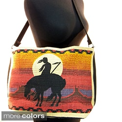 Mexican Style Printed Messenger Bag