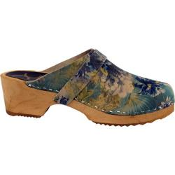 Women's Cape Clogs Waterlilly Blue