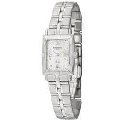 Raymond Weil Women's 'Parsifal' Stainless Steel Quartz Diamond Watch