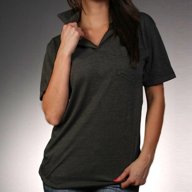 Laguna Beach Jean Co. Womens Black Polo Shirt