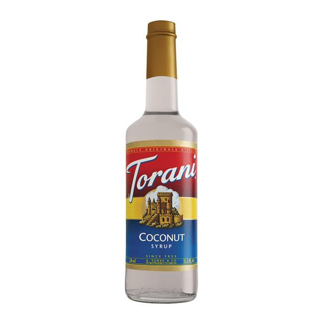 Torani PET Coconut Syrup (Pack of 6)