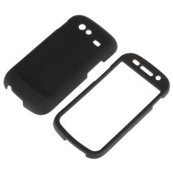 Black Rubber Coated Case for Samsung Google Nexus S 4G