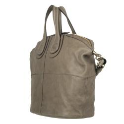 d8f6ee00ca Givenchy Medium Nightingale Taupe Leather Tote Bag on PopScreen