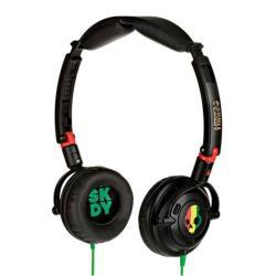 Skullcandy Lowrider Rasta Headphones