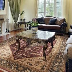 Hand Knotted Minal Wool Rug (9'x12')