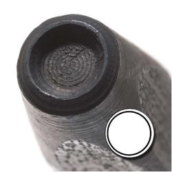 Large Circle 6mm Punch Stamp for Metal
