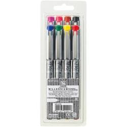 Zig Memory System Millennium Assorted Colors 0.3mm Markers (Pack of 8)