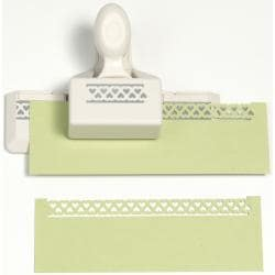 Martha Stewart Heart Loops Trim Double Edge Punch