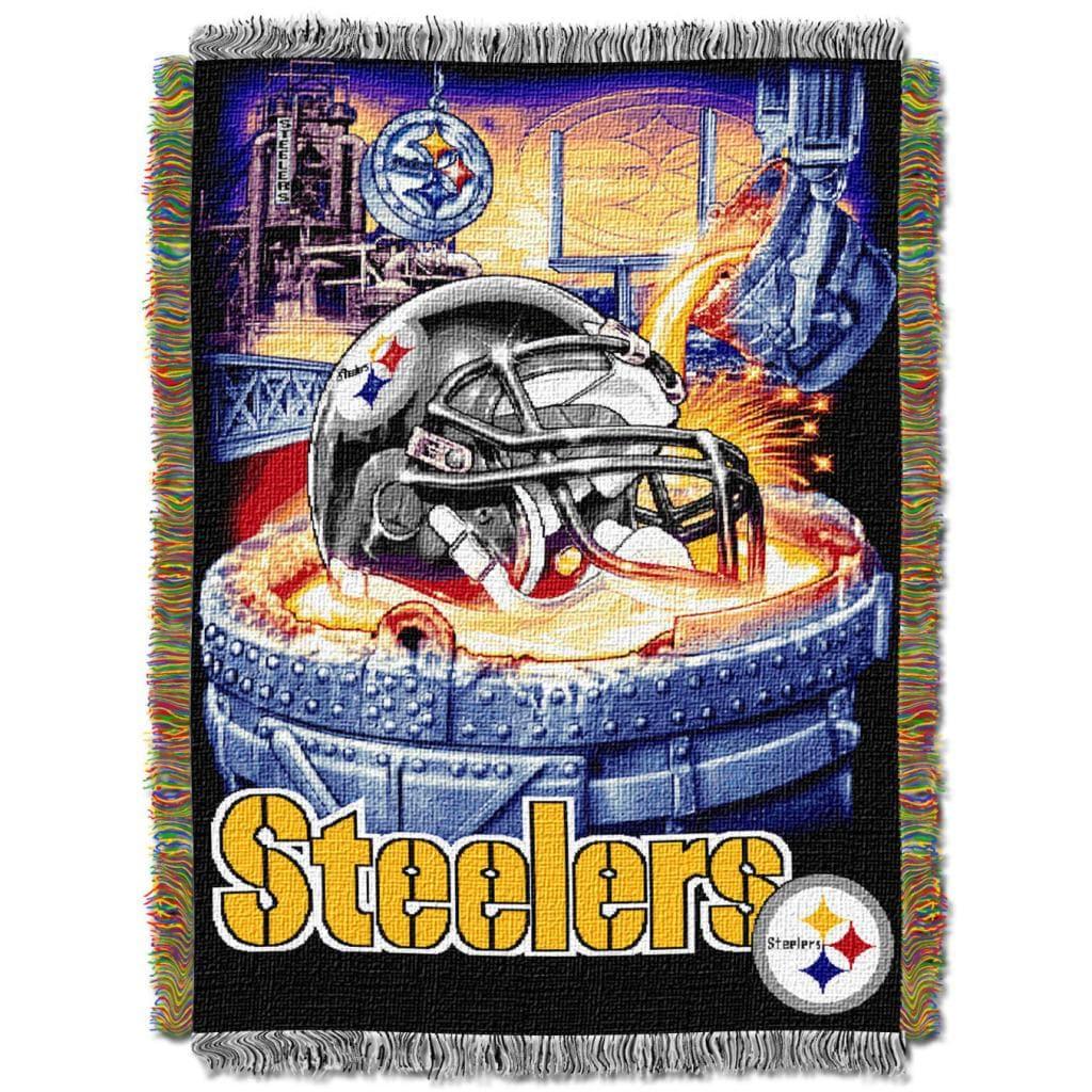 Northwest Pittsburgh Steelers Woven Jacquard Acrylic Blanket