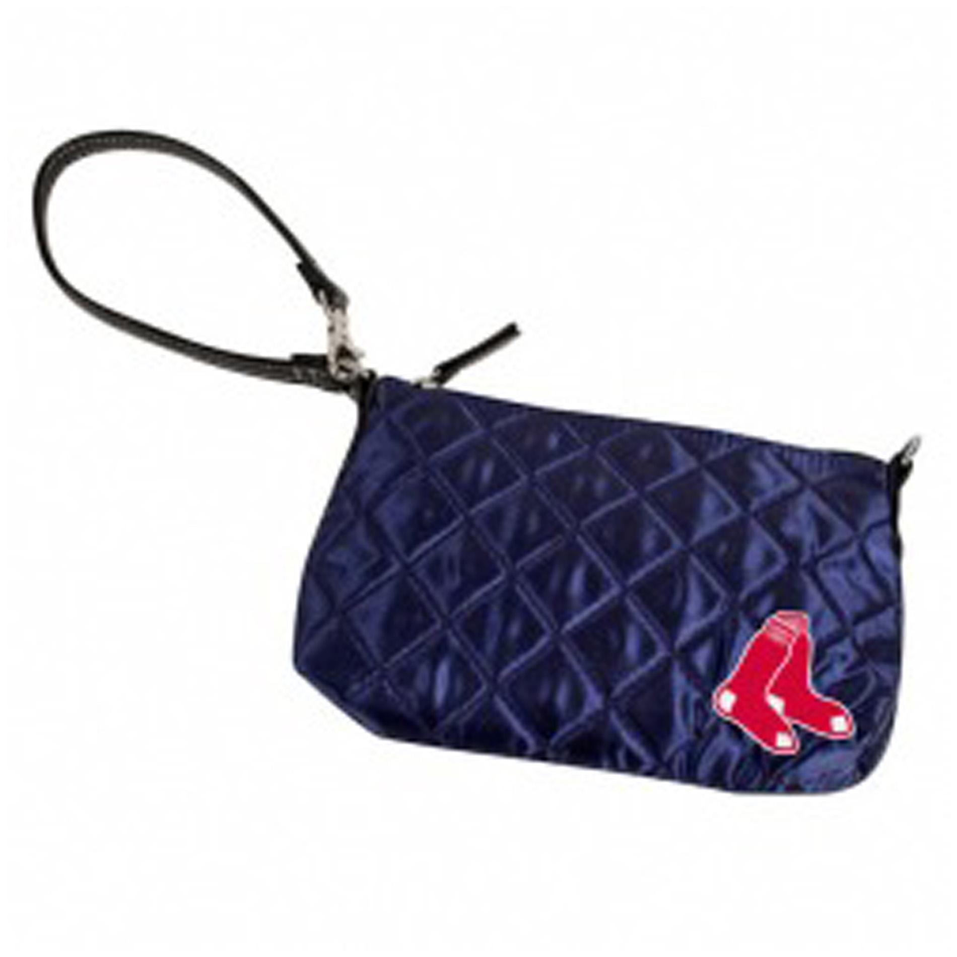 Little Earth MLB Boston Red Sox Quilted Wristlet