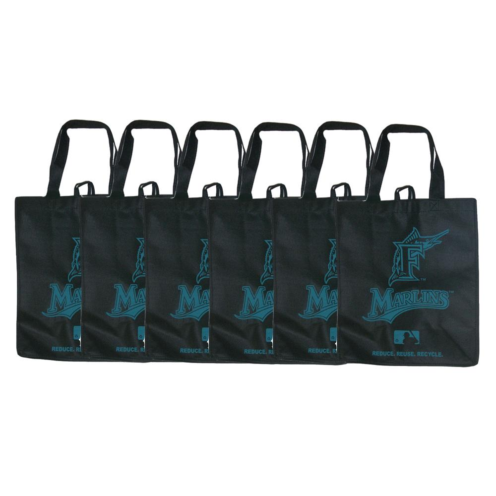 Florida Marlins Reusable Bags (Pack of 6)