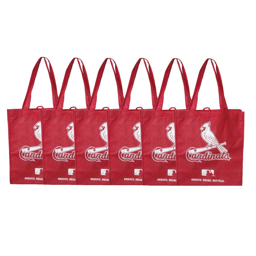 St. Louis Cardinals Reusable Bags (Pack of 6)