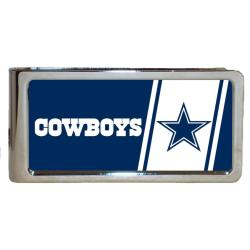 Dallas Cowboys Stainless Steel Money Clip