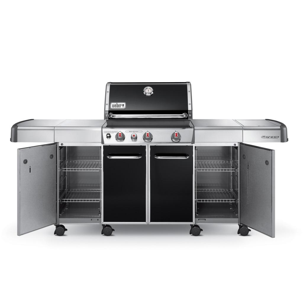 weber genesis grill black center accessory cabinets overstock shopping the best prices on. Black Bedroom Furniture Sets. Home Design Ideas