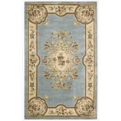 Nourison Chateau Blue Rug (3'3 x 5'3)