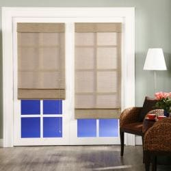 Nevada Timberwolf Roman Shade (24 in. x 72 in.)