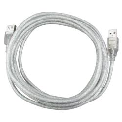USB 2.0 A-A 10-foot M/ F Extension Cable (Pack of 2)