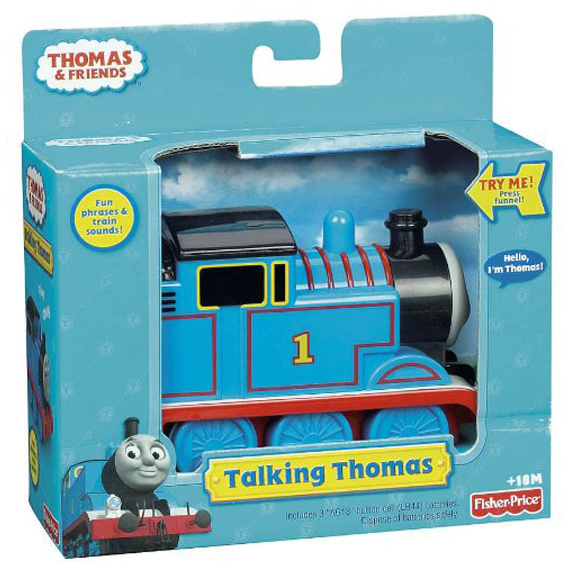 Fisher Price Thomas and Friends 'Talking Thomas' Toy Train Engine
