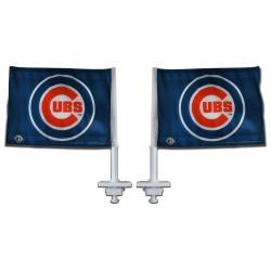 Chicago Cubs Truck Flags (Set of 2)