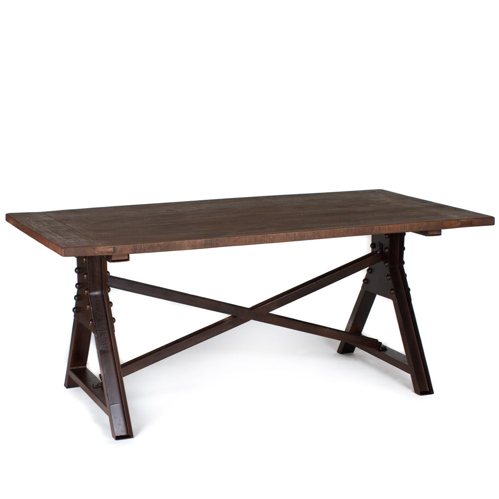 Wooden Top Dining Table (India)