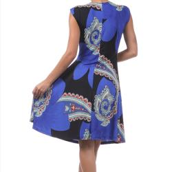 Tabeez Women's Paisley Rhinestone Dress