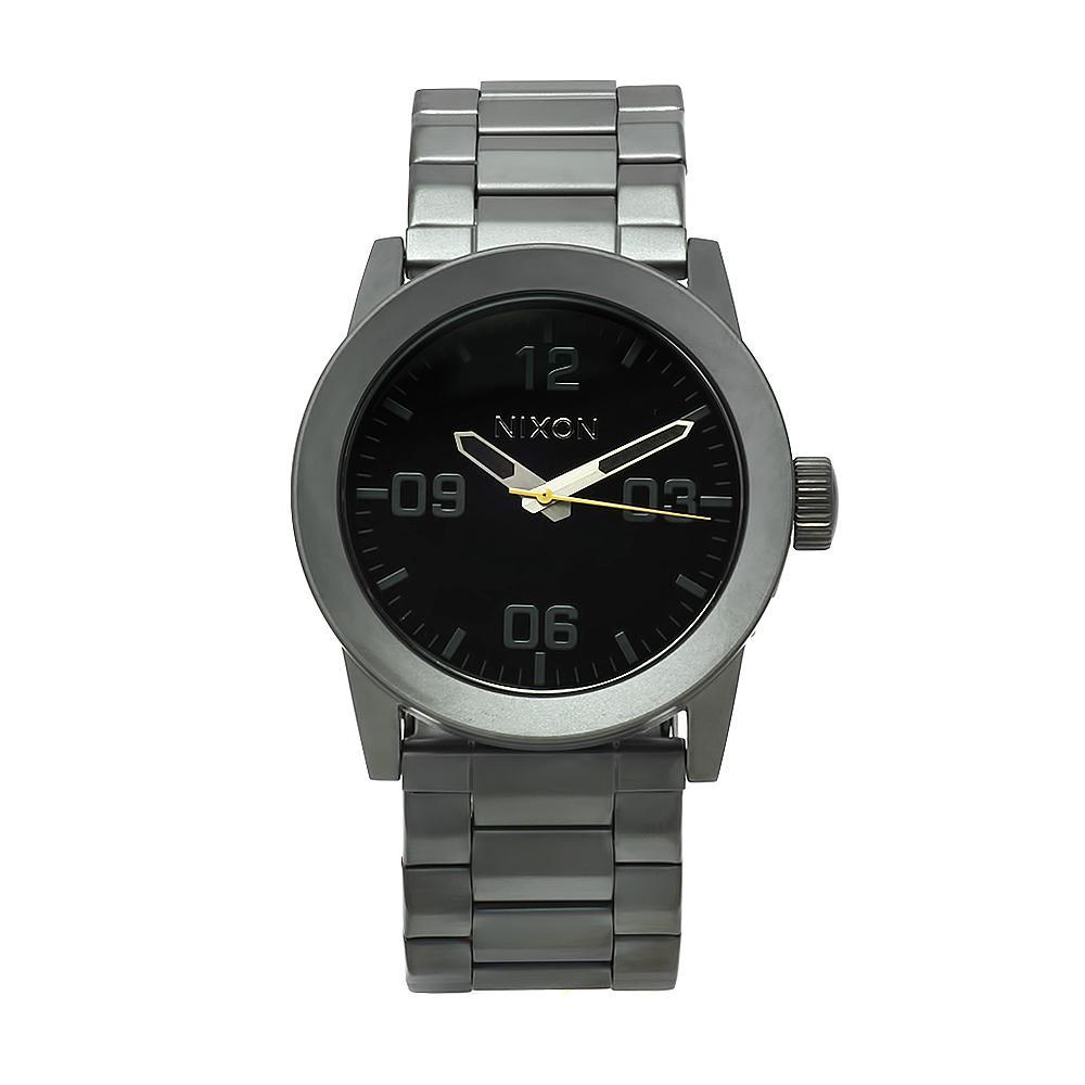 Nixon Men's A276-680 Private SS Gunmetal/Black Watch