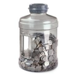 Emerson large coin bank 13812027 for Big bottle coin banks