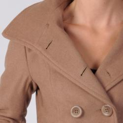 Ci Sono by Journee Junior's Double-breasted Peacoat