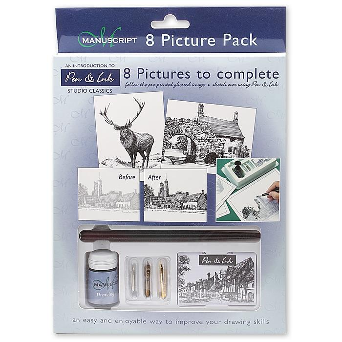 Manuscript Assorted Fine Art Studio Classic Picture-to-complete Pack