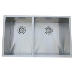 Stainless Steel Undermount Double-bowl Kitchen Sink