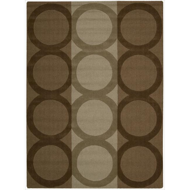 Nourison Hand-tufted Panache Chocolate Wool Rug (7'3 x 9'3)