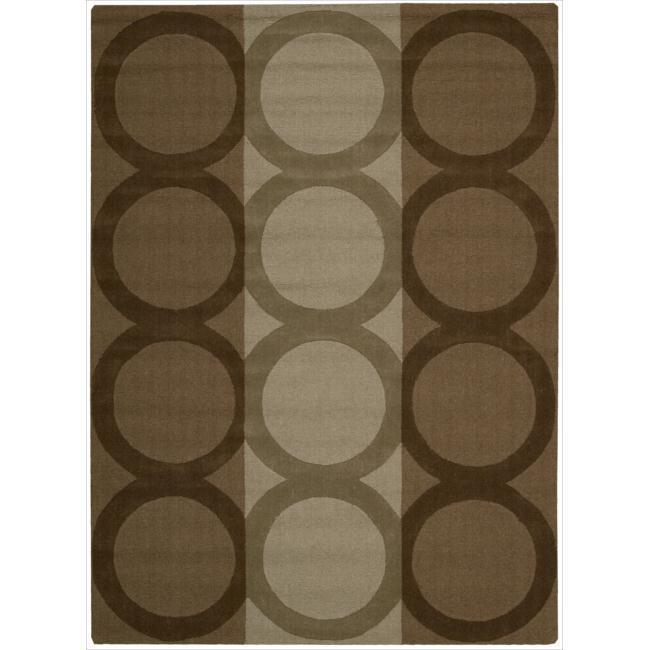 Nourison Hand-tufted Panache Chocolate Wool Rug (9'6 x 13')