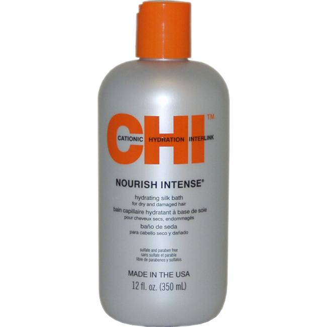Nourish Intense Hydrating 12-ounce CHI Silk Hair Bath