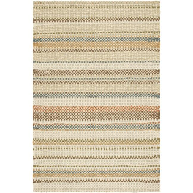 Safavieh Hand-made Reversible Quilt Cottage Multi Wool Rug (8' x 10')