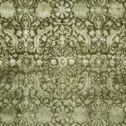 Safavieh Handmade Silk Road Majestic Sage N. Z. Wool Rug (9'6 x 13'6)