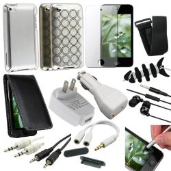 15-piece Case/ Charger/ Audio Cable/ Headset for Apple iPod touch Gen 4