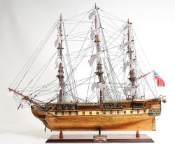 Old Modern Handicrafts USS Constitution Copper-Bottom Model