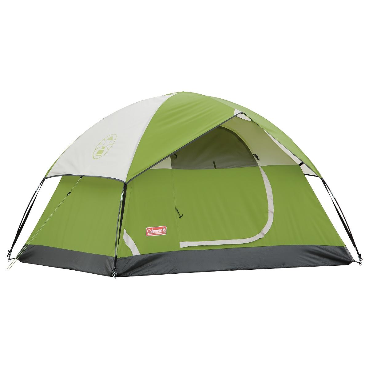Coleman Sundome Green Single-door Two-person Tent (48' x 5' x 7')