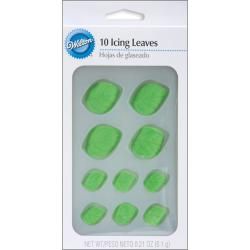 Icing Decorations Leaves (Pack of 12)