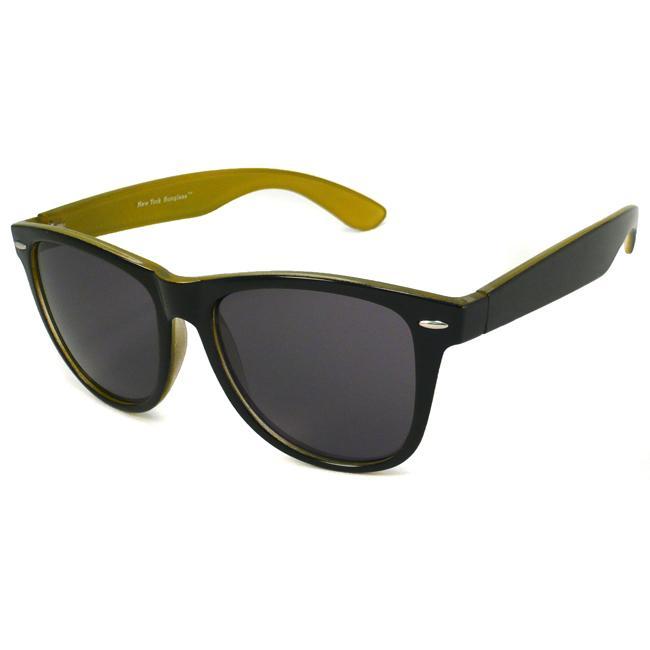 Urban Eyes Men's Two-tone Square Sunglasses