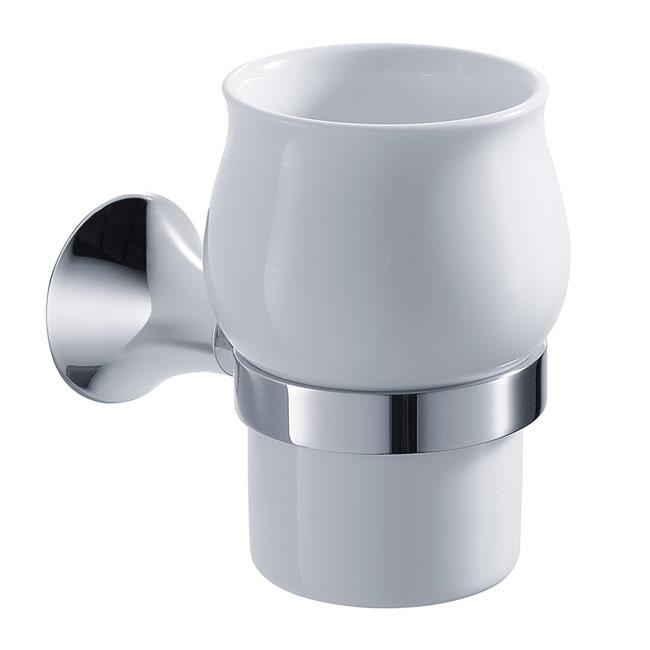 Kraus Amnis Bathroom Accessories Wall-mounted Ceramic Tumbler Holder