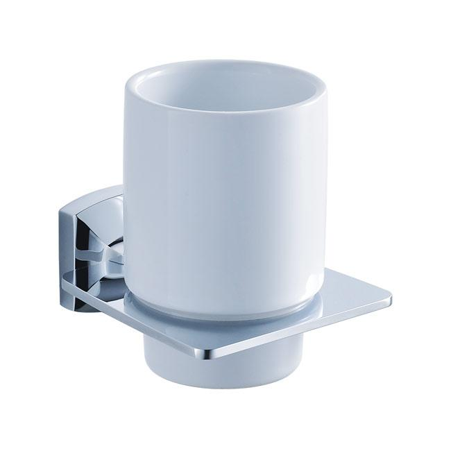 Kraus Fortis Bathroom Accessories Wall-mounted Ceramic Tumbler Holder