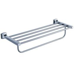 Kraus Fortis Bathroom Accessories Bath Towel Rack with Towel Bar