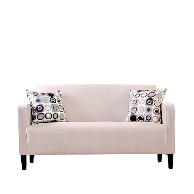 gabi khaki twill apartment size sofa 13828856