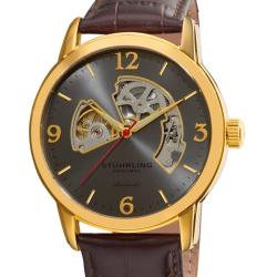 Stuhrling Orginal Men's Delphi Huntsman Skeleton Automatic Watch