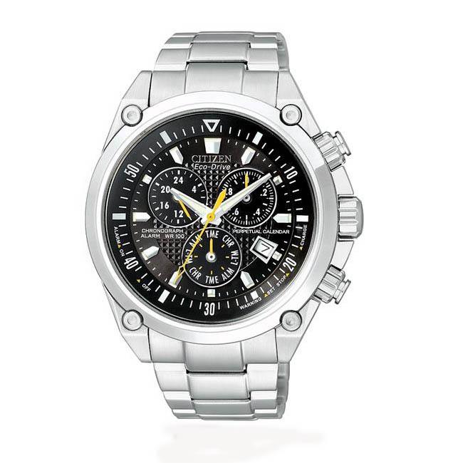 Citizen Men's Eco-Drive Perpetual Calendar Chronograph Watch