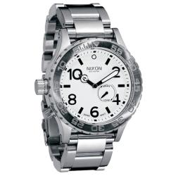 Nixon Men's '42-20' Tide Subdial White Watch