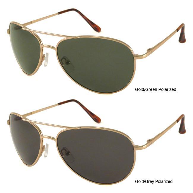Urban Eyes Polarized Aviator Sunglasses