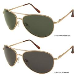 Urban Eyes Polarized Aviator Sunglasses